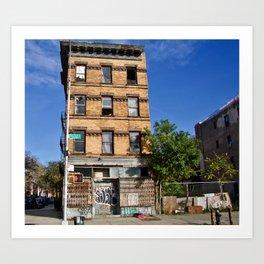 Abandoned. Bushwick. USA Art Print