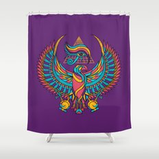 Eye of Horus Shower Curtain