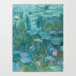 Monet - Water Lilies Poster