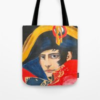 napoleon Tote Bags featuring NAPOLEON by BonOrand