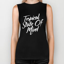 Tropical State Of Mind Biker Tank