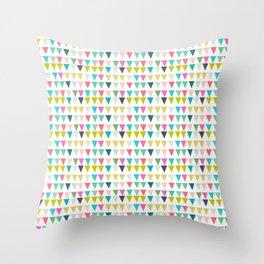 geometrics colors Throw Pillow