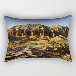 Capital Reef sunset, Utah Rectangular Pillow