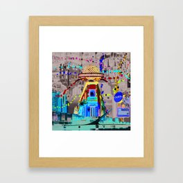 Buenos Aires Framed Art Print