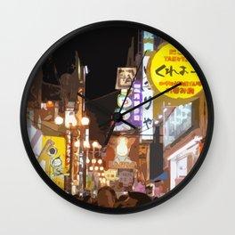 Lost In Japan 2 Wall Clock