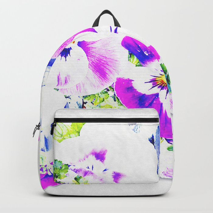 Paper Flowers Backpack