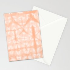 Tie Dye 2 Peach Stationery Cards