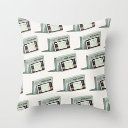 Lo-Fi goes 3D - Handheld Game Console Throw Pillow