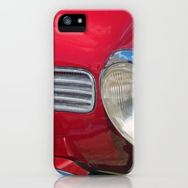 Chrome and Curves - vintage Karmen Ghia iPhone Case
