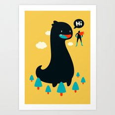 Safe from Harm Art Print