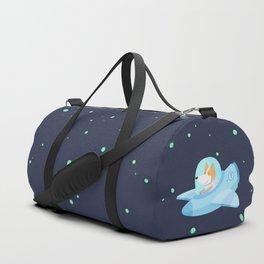 Space corgi Duffle Bag