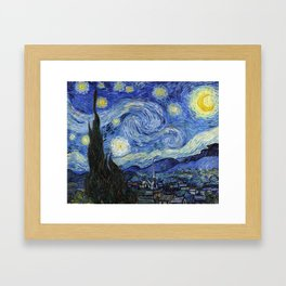 Starry Night by Vincent Van Gogh Framed Art Print
