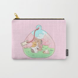 Bubu the Guinea pig, Cherry Blossom Terrarium Carry-All Pouch