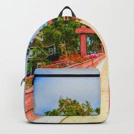 Pink Bridge Backpack