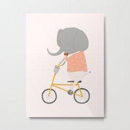 Margaux Rides Metal Print