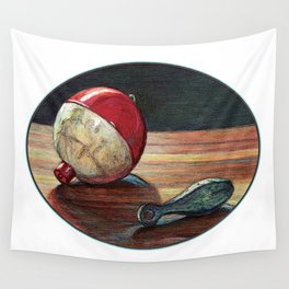 Bobber and Sinker by KPC Studios Wall Tapestry