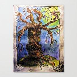 Gnarly Tree Canvas Print
