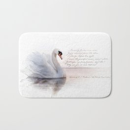 The Swan Princess Bath Mat