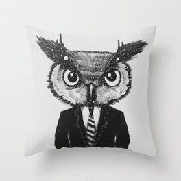 In Search of Wisdom (A Portrait of Perseverance) Throw Pillow