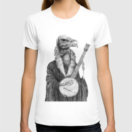 Vulture Banjo by Pia Tham T-shirt