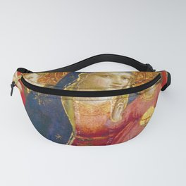 """Fra Angelico (Guido di Pietro) """"Madonna and Child with Angels"""" Fanny Pack"""