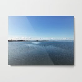 Clarity - Fraser River - British Columbia Metal Print