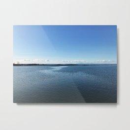 Clarity - Fraser River - British Columbia Metal Print