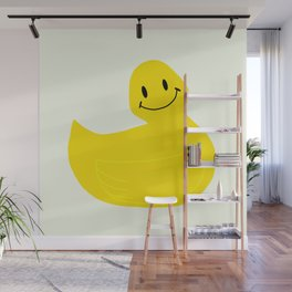 SMILEY DUCKY Wall Mural