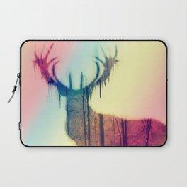 Deer colorful Laptop Sleeve