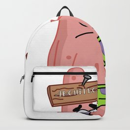 Patrick Star the Architect Backpack