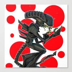URBNPOP Aliens Attack Canvas Print