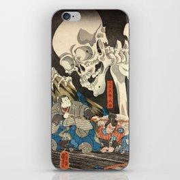 Utagawa Kuniyoshi - Takiyasha the Witch and the Skeleton Spectre iPhone Skin