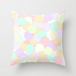 Mini Mallows Throw Pillow