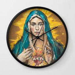 NEW EDITION: Cor Maria Sacratissimum Wall Clock