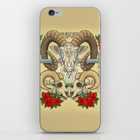 aries iPhone & iPod Skins featuring Aries by StudioBlueRoom