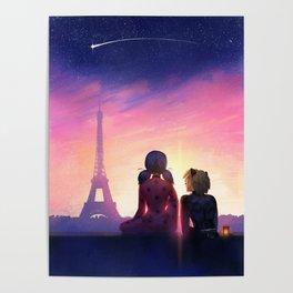 Miraculous in Paris Poster