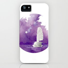 Halong Bay Vietnam Cruise under the Moonlight iPhone Case
