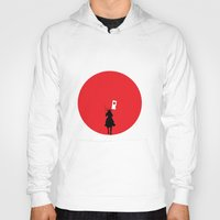 japan Hoodies featuring Japan by bluedox