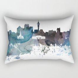 Auckland skyline canvas print Rectangular Pillow