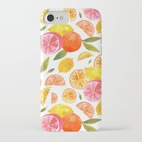 oana befort iPhone & iPod Cases featuring CITRUS by Oana Befort