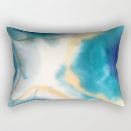 The eye of the storm Rectangular Pillow
