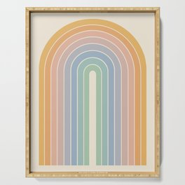 Gradient Arch - Rainbow III Serving Tray