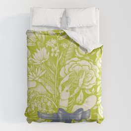 Undersea Victorian - vivid Comforters