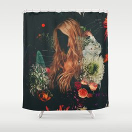 Editorial Shower Curtain
