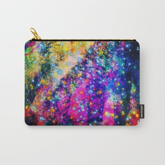 rainbow galaxy with stars Carry-All Pouch