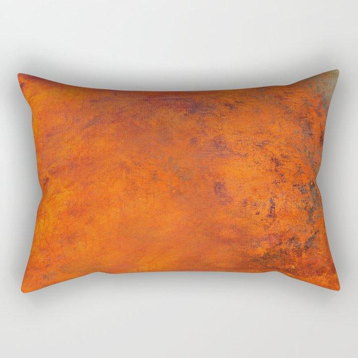 Orange Rectangular Pillow
