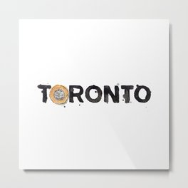 Favourite Things - Toronto Metal Print