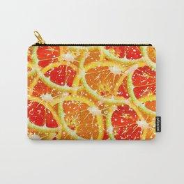 Snow citrus Carry-All Pouch