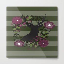 Oh Deer 2 Metal Print