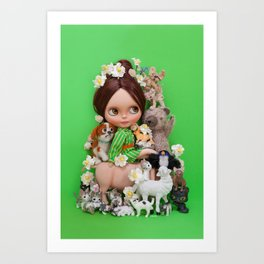 MOTHER NATURE Art Print